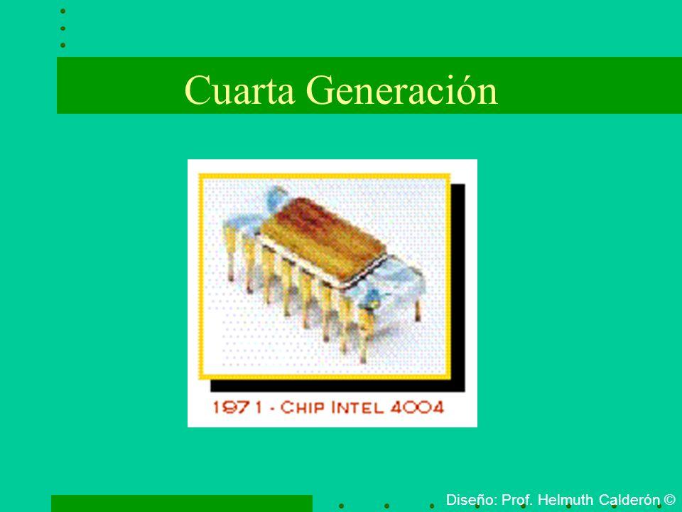 Cuarta Generación Diseño: Prof. Helmuth Calderón ©