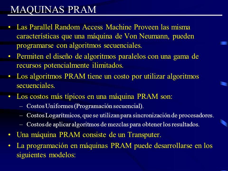 MAQUINAS PRAM