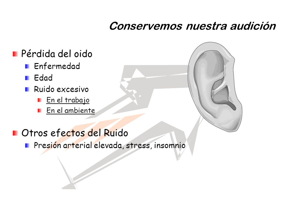 Conservemos nuestra audición