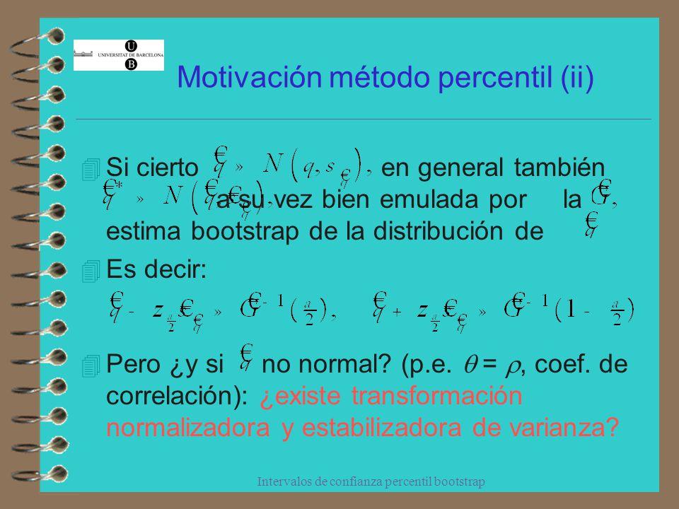 Motivación método percentil (ii)