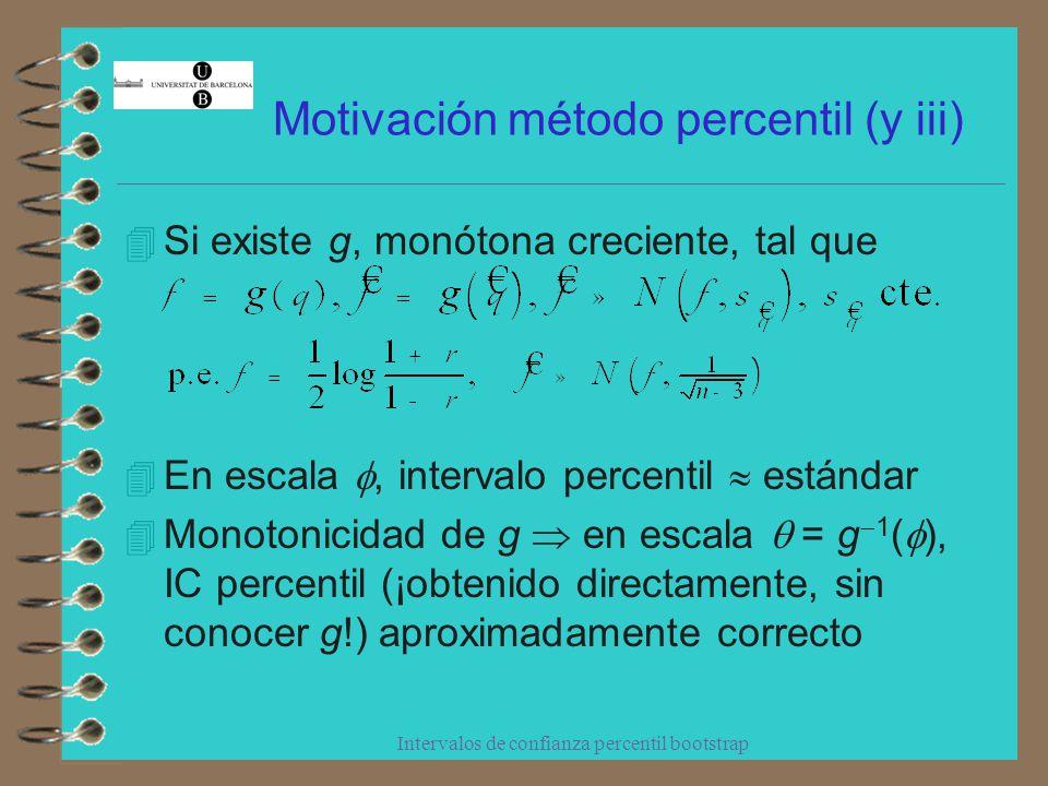 Motivación método percentil (y iii)
