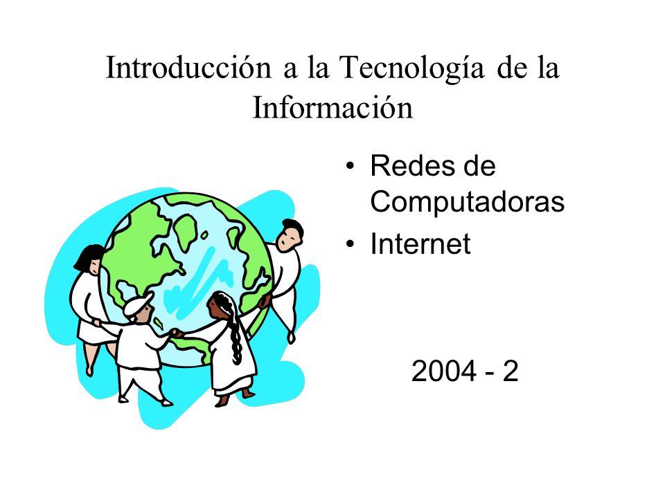 Introducción a la Tecnología de la Información