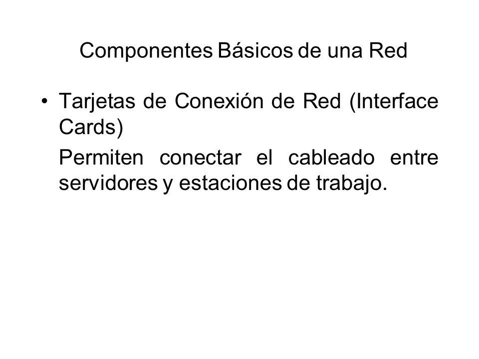Componentes Básicos de una Red