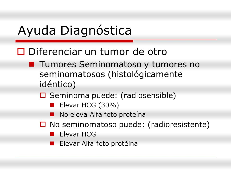 Ayuda Diagnóstica Diferenciar un tumor de otro