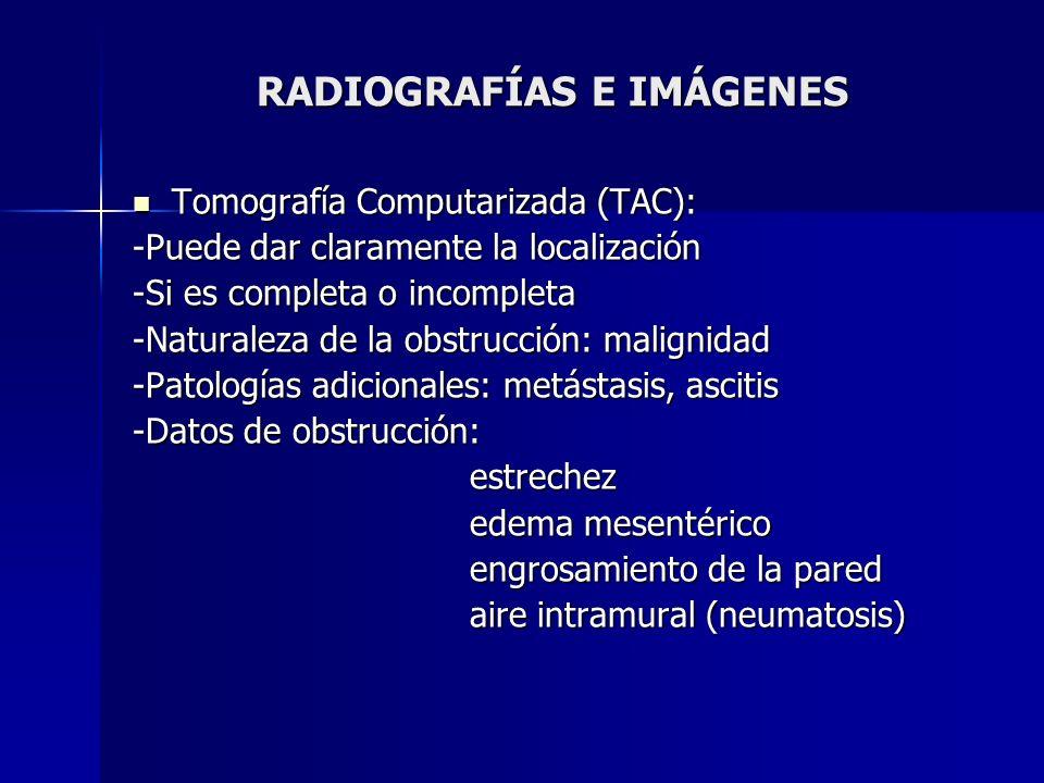 RADIOGRAFÍAS E IMÁGENES