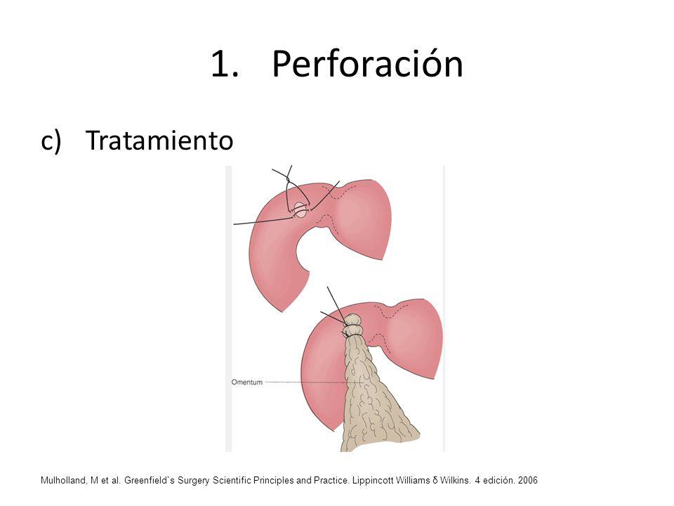 Perforación Tratamiento