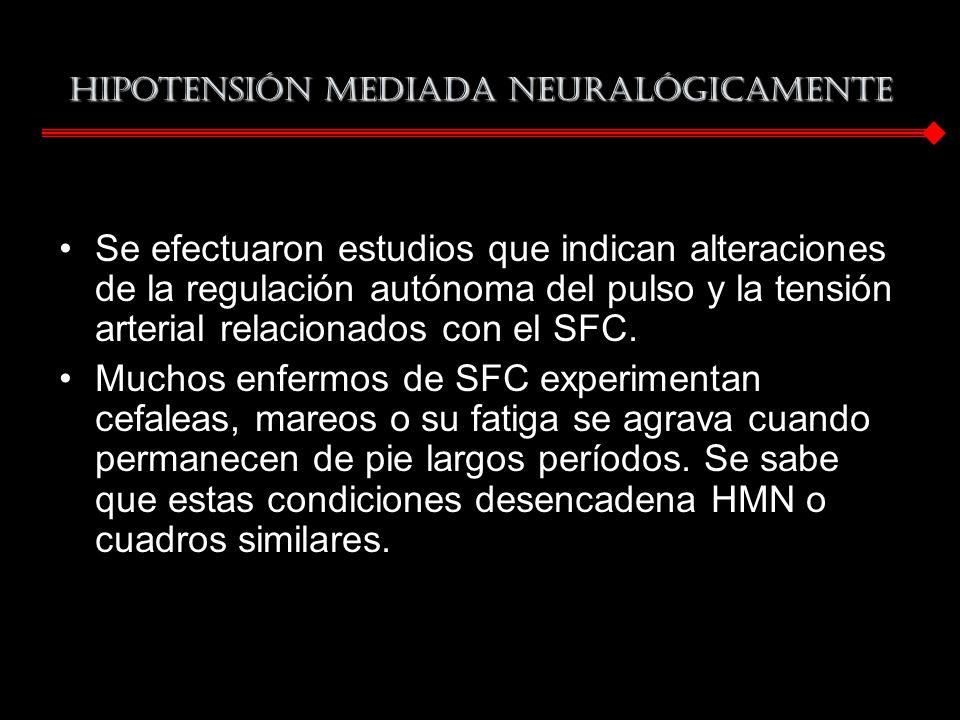 Hipotensión mediada neuralógicamente