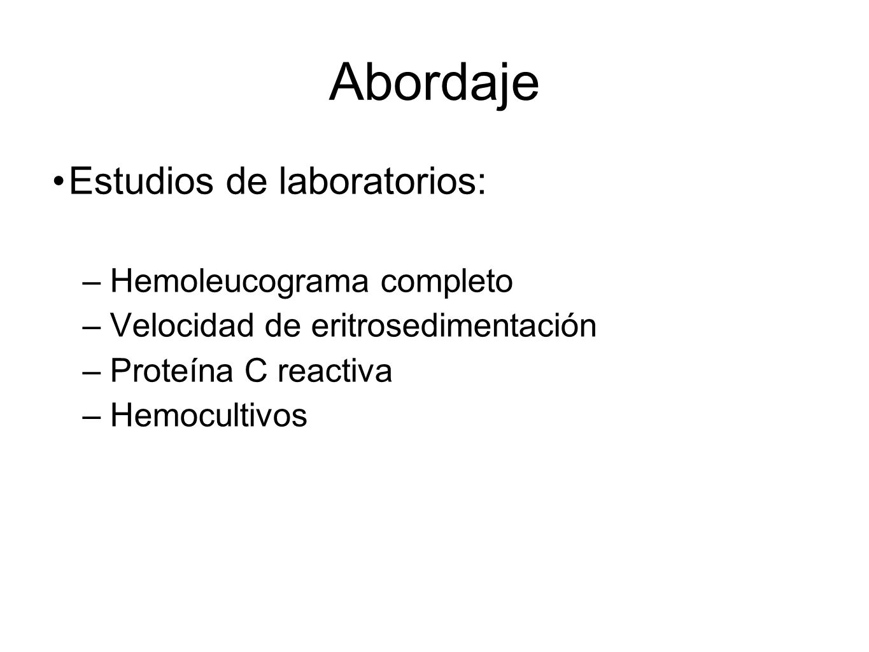 Abordaje Estudios de laboratorios: Hemoleucograma completo