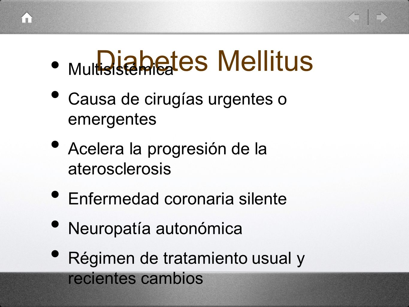 Diabetes Mellitus Multisistémica