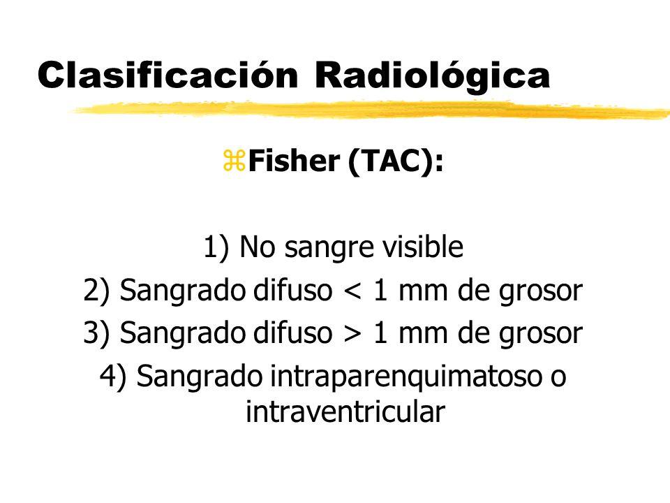 Clasificación Radiológica