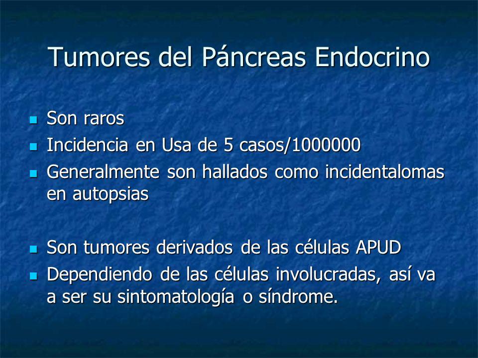 Tumores del Páncreas Endocrino