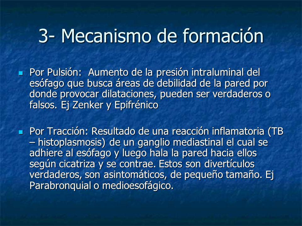 3- Mecanismo de formación