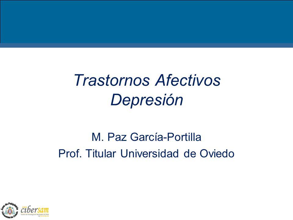 Trastornos Afectivos Depresión