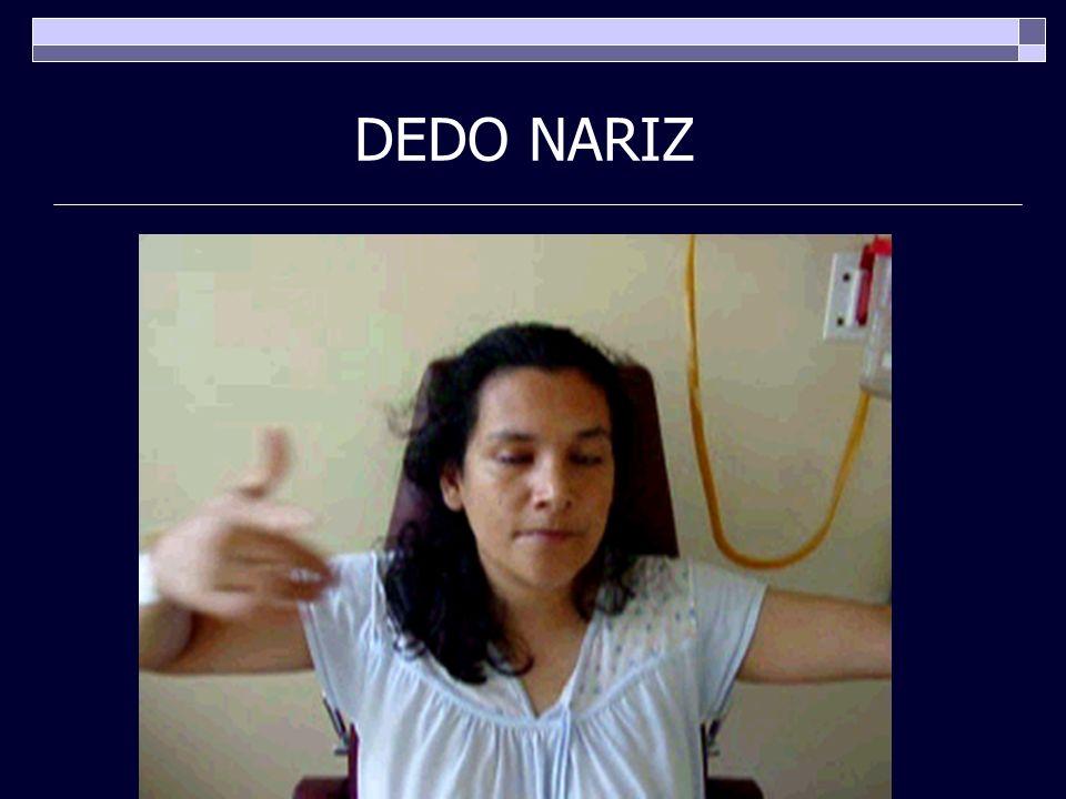 DEDO NARIZ