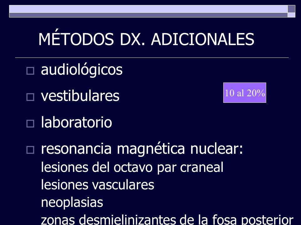 MÉTODOS DX. ADICIONALES