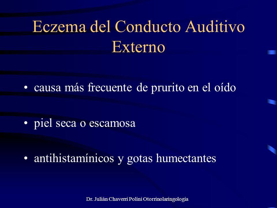 Eczema del Conducto Auditivo Externo