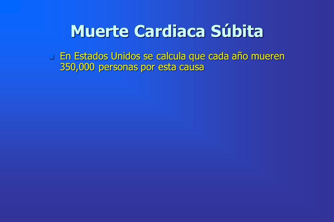 Muerte Cardiaca Súbita