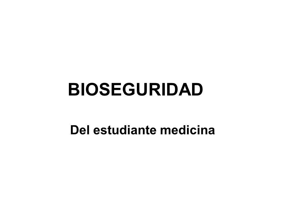 Del estudiante medicina