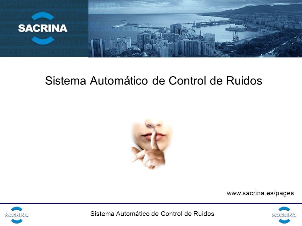 Sistema Automático de Control de Ruidos