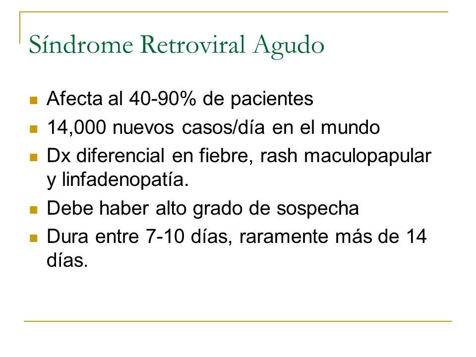 Síndrome Retroviral Agudo