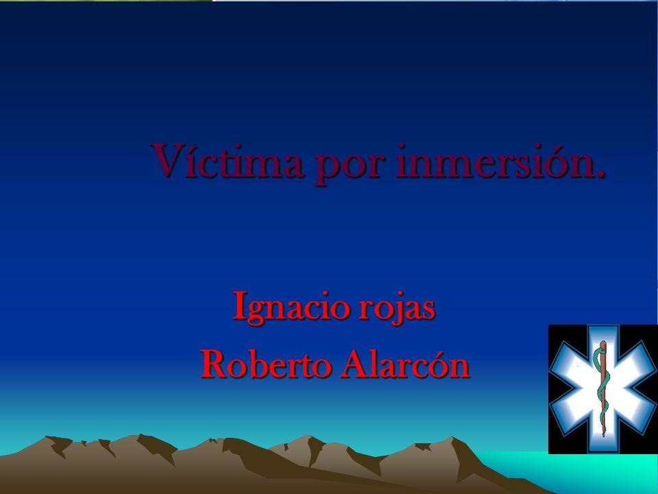 Ignacio rojas Roberto Alarcón