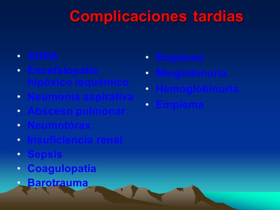 Complicaciones tardias
