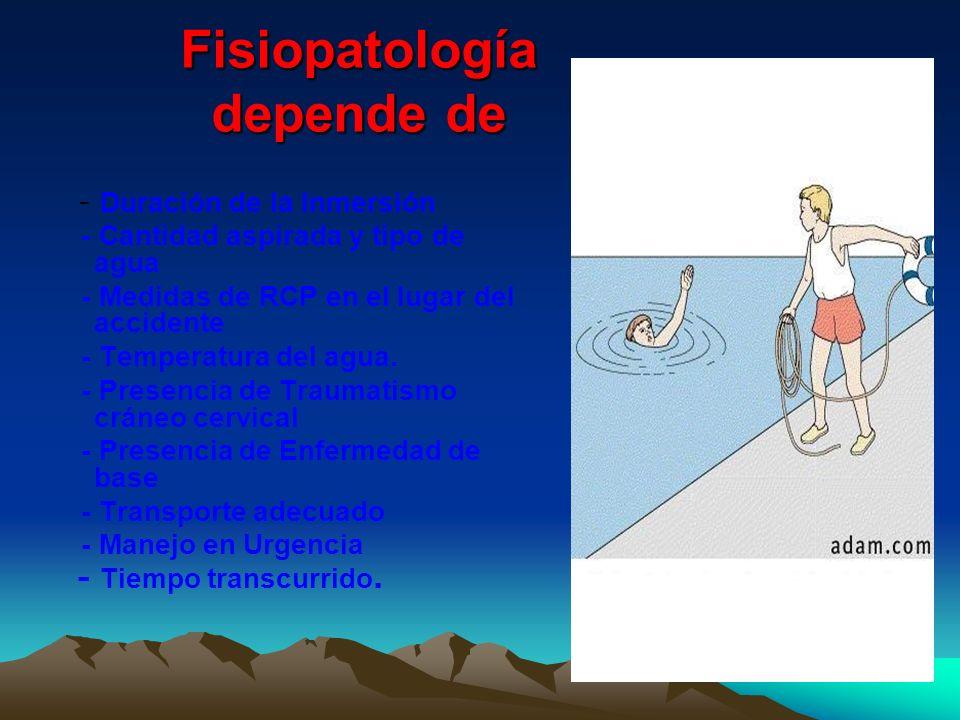 Fisiopatología depende de