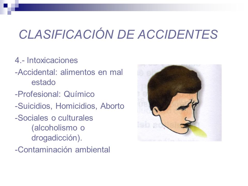 CLASIFICACIÓN DE ACCIDENTES