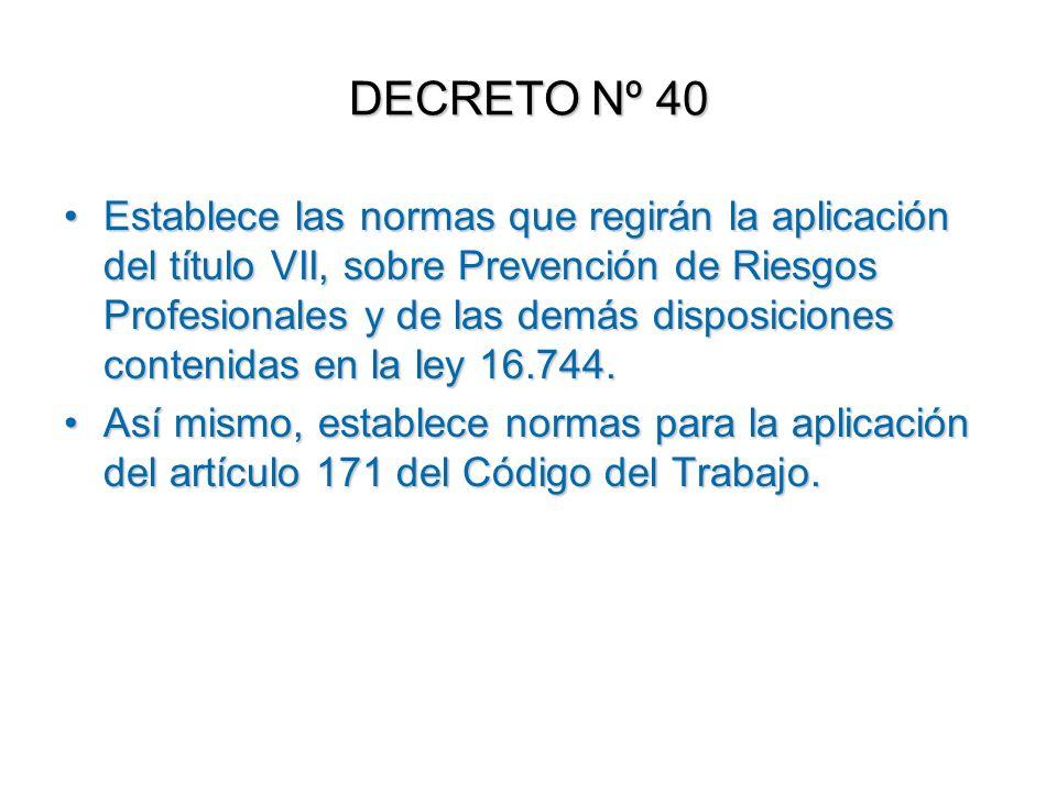 DECRETO Nº 40
