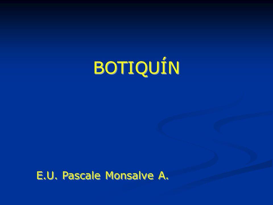 BOTIQUÍN E.U. Pascale Monsalve A.