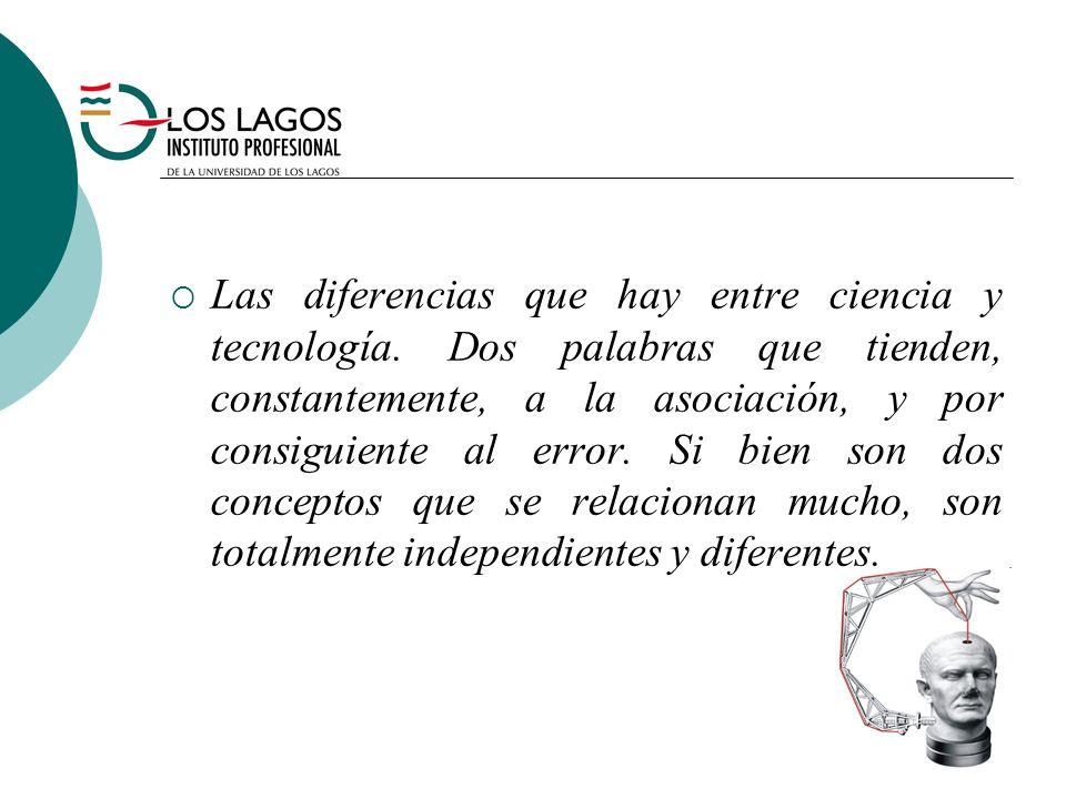 Las diferencias que hay entre ciencia y tecnología
