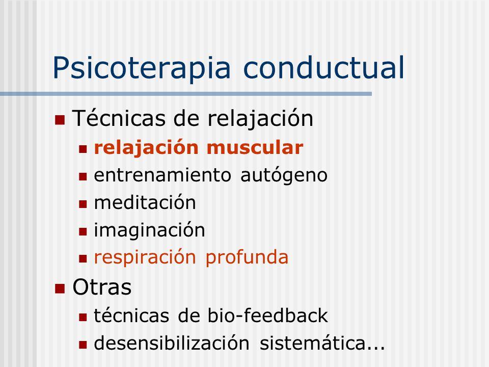 Psicoterapia conductual