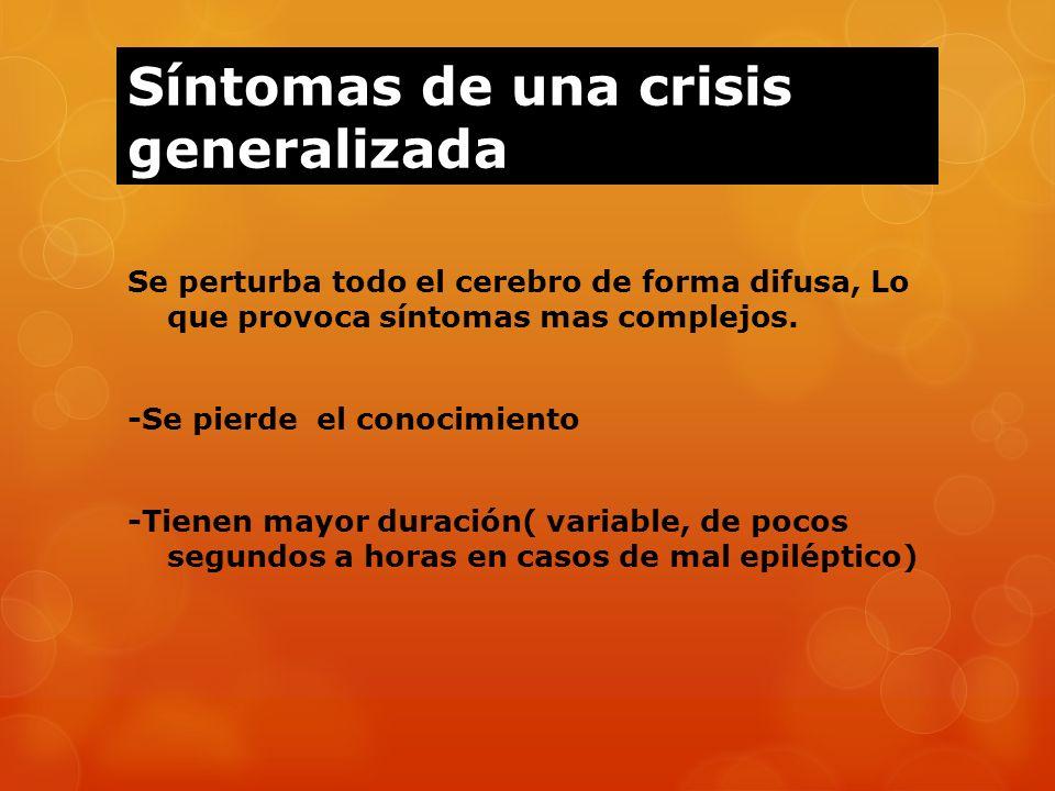 Síntomas de una crisis generalizada