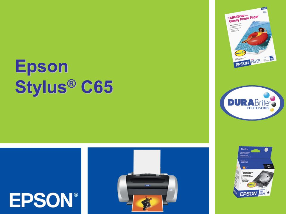 Epson Stylus® C65