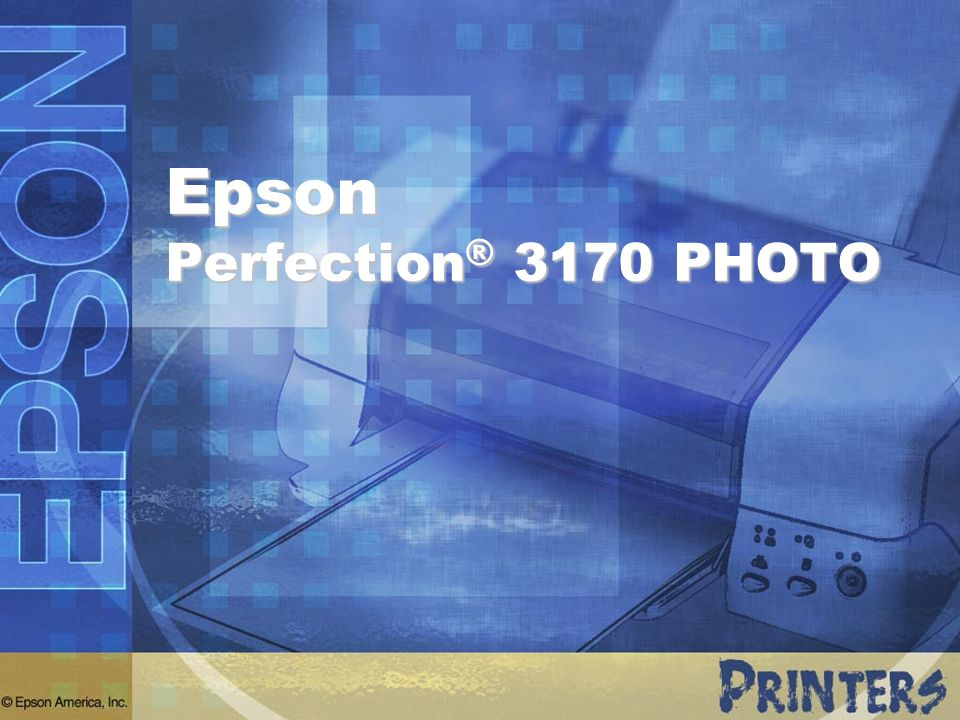 Epson Perfection® 3170 PHOTO