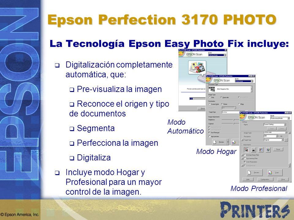 Epson Perfection 3170 PHOTO