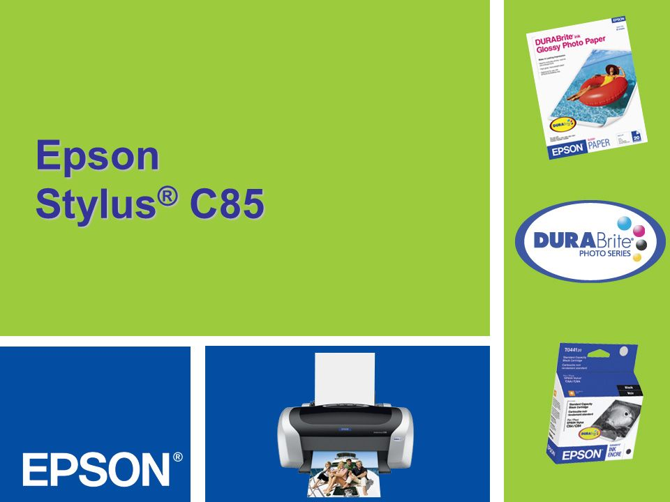 Epson Stylus® C85