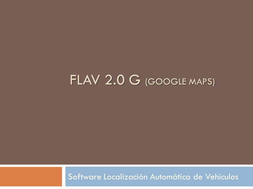 Software Localización Automática de Vehículos