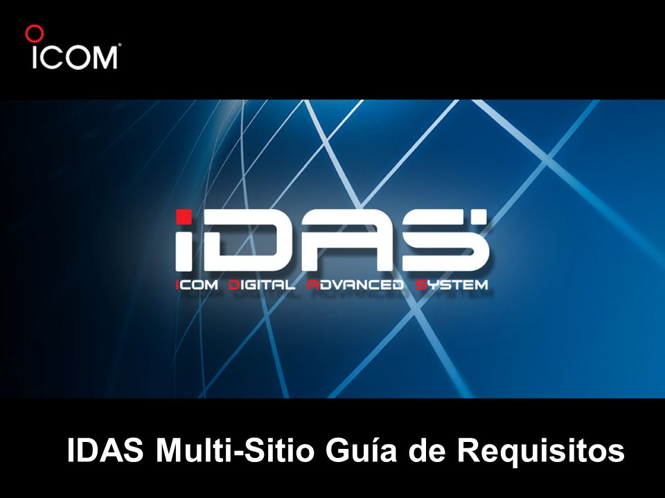 IDAS Multi-Sitio Guía de Requisitos
