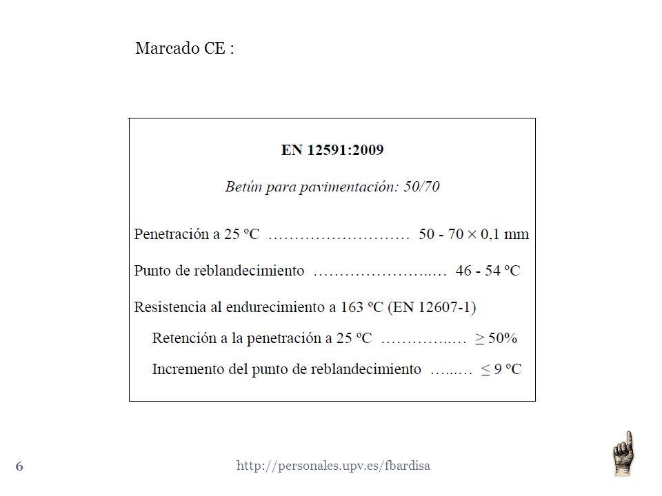 Marcado CE : http://personales.upv.es/fbardisa