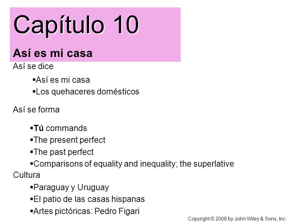 Capítulo 10 Así es mi casa   Así se dice Así es mi casa