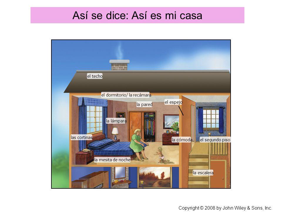 Así se dice: Así es mi casa