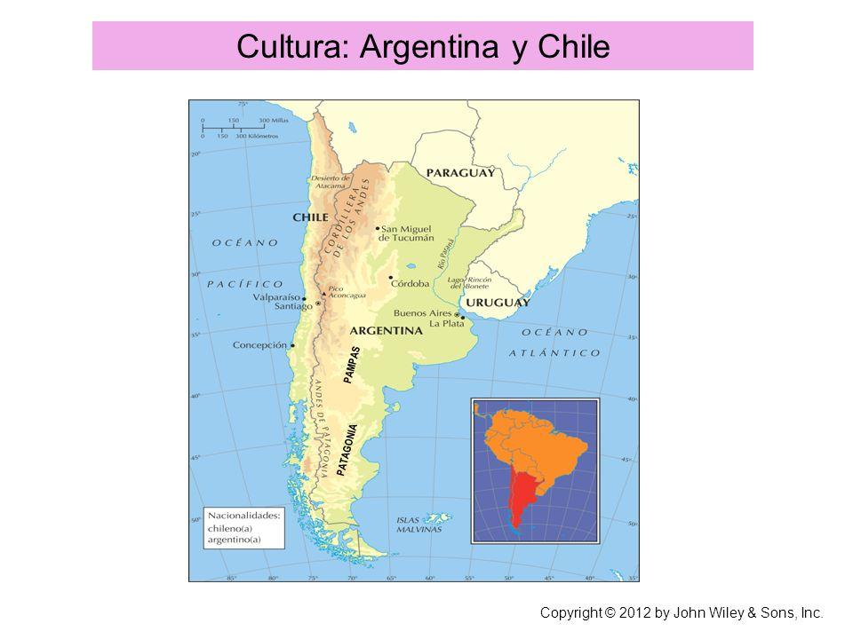 Cultura: Argentina y Chile