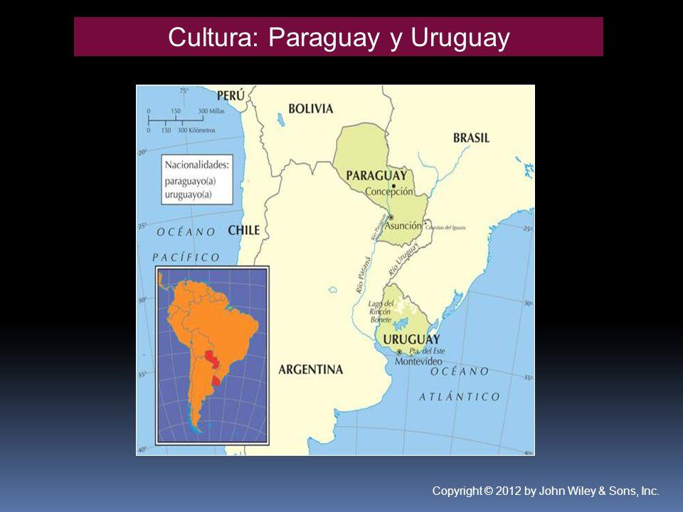 Cultura: Paraguay y Uruguay