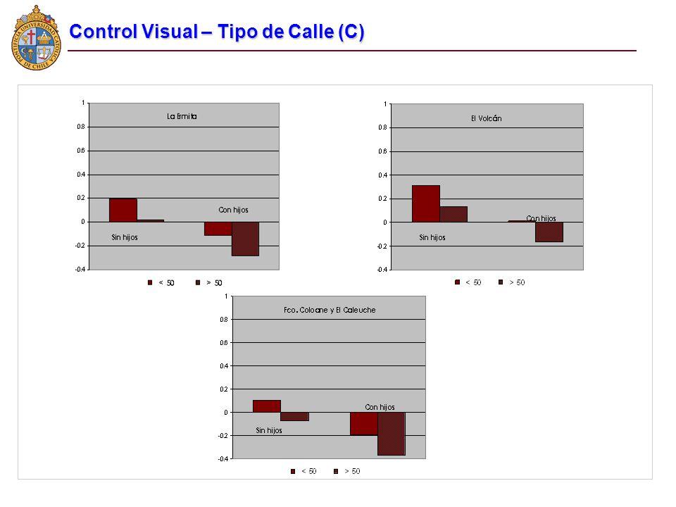 Control Visual – Tipo de Calle (C)