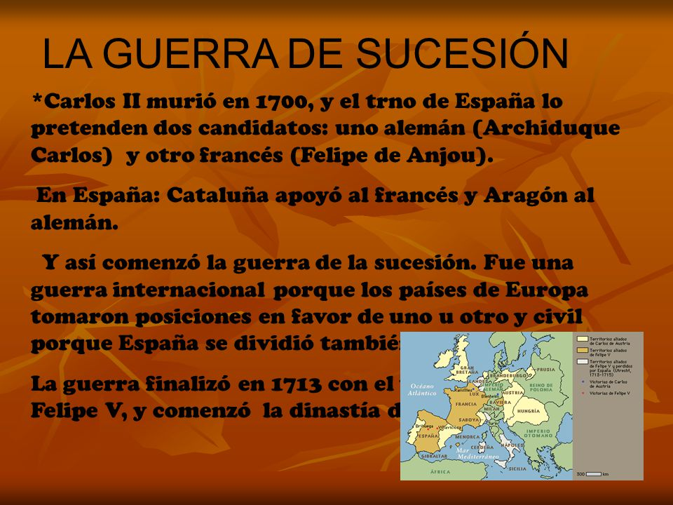 LA GUERRA DE SUCESIÓN