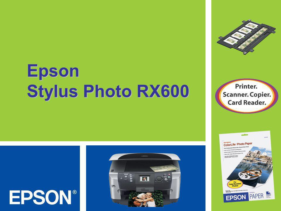 Epson Stylus Photo RX600
