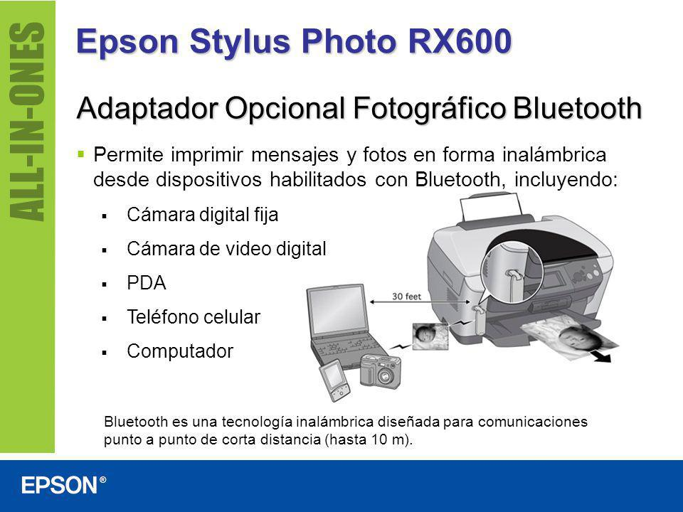 Epson Stylus Photo RX600 Adaptador Opcional Fotográfico Bluetooth