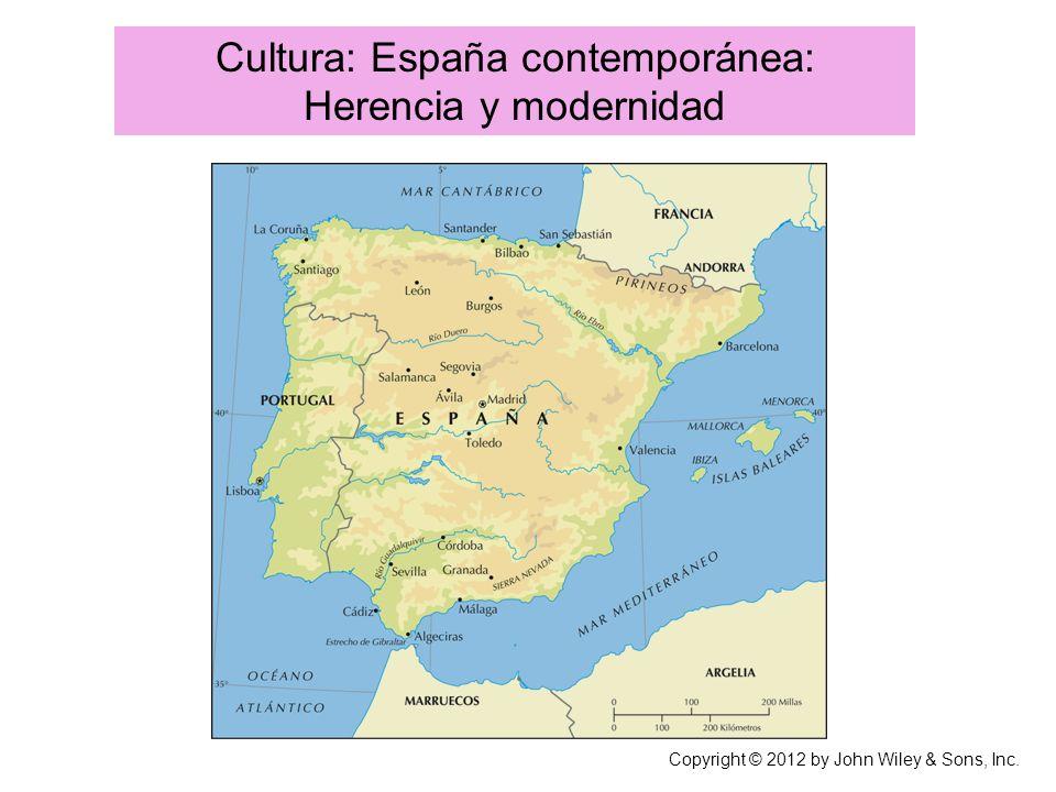 Cultura: España contemporánea: Herencia y modernidad