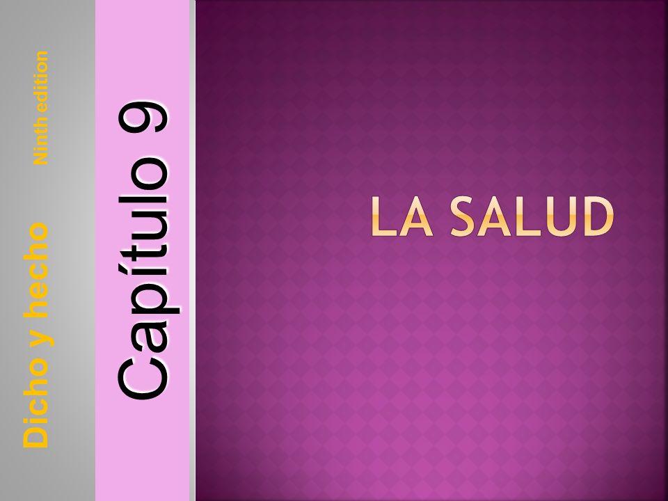 Capítulo 9 La Salud Dicho y hecho Ninth edition